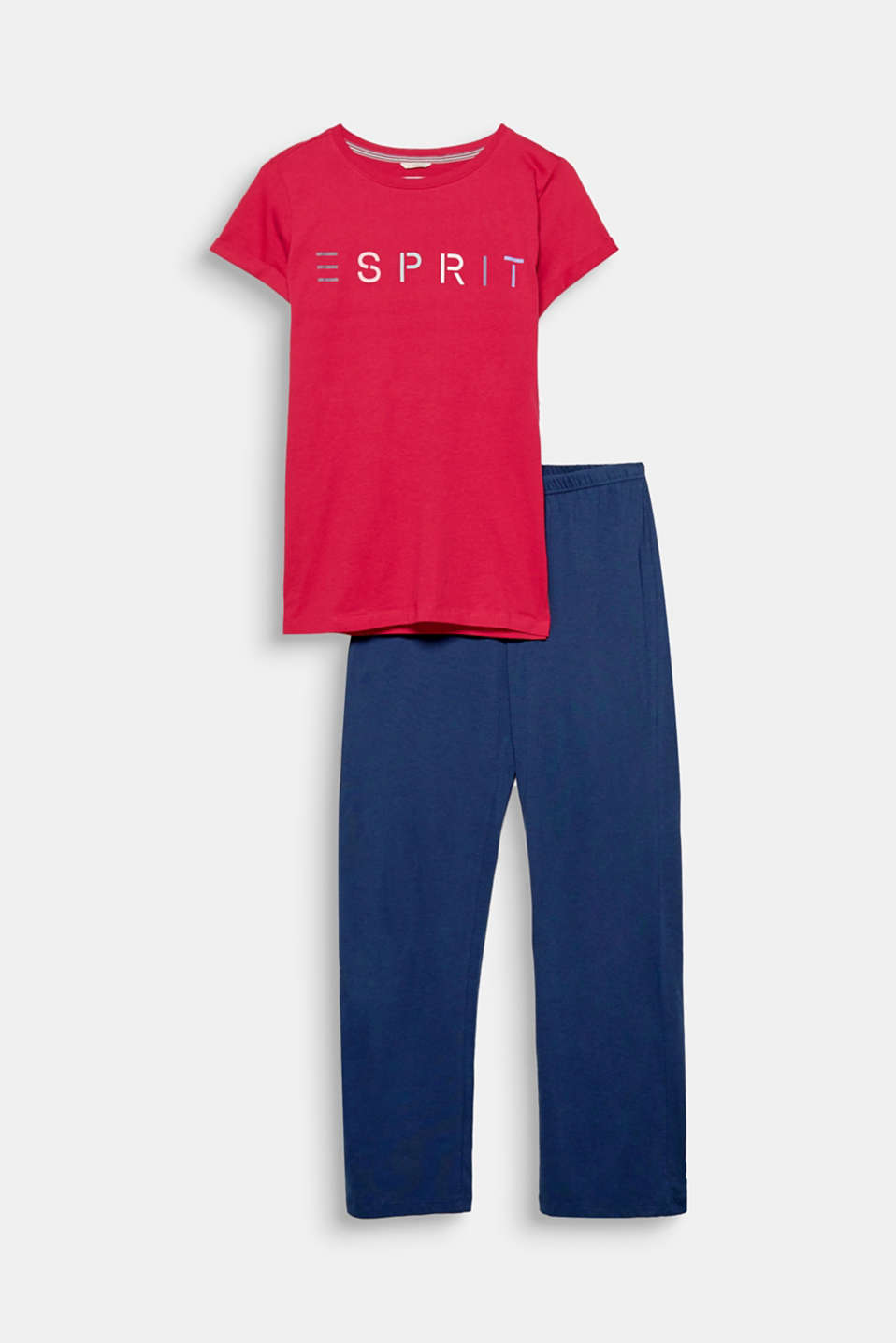 These logo pyjamas in soft cotton jersey promise maximum comfort and an extra helping of style.