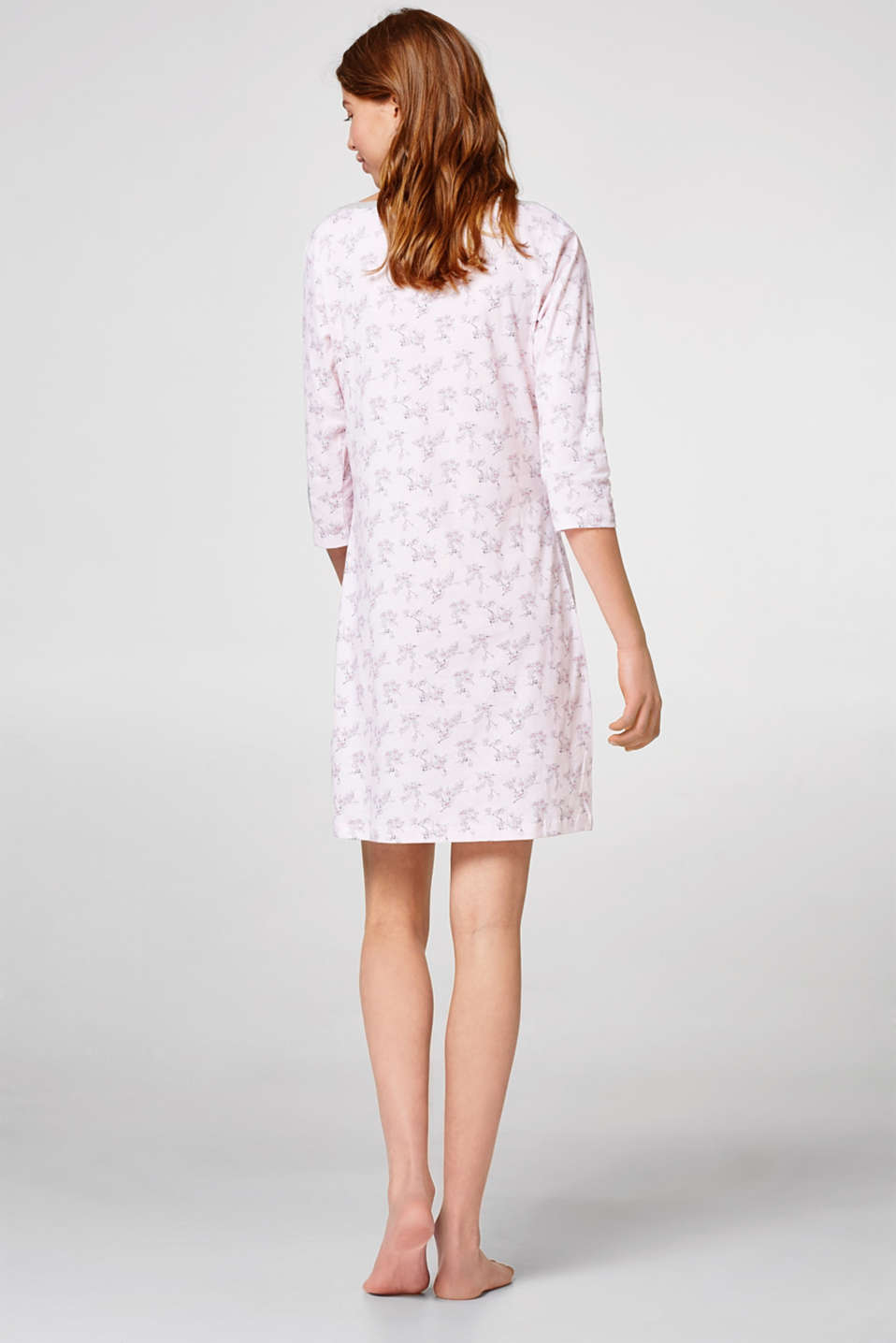 Jersey nightshirt in 100% cotton