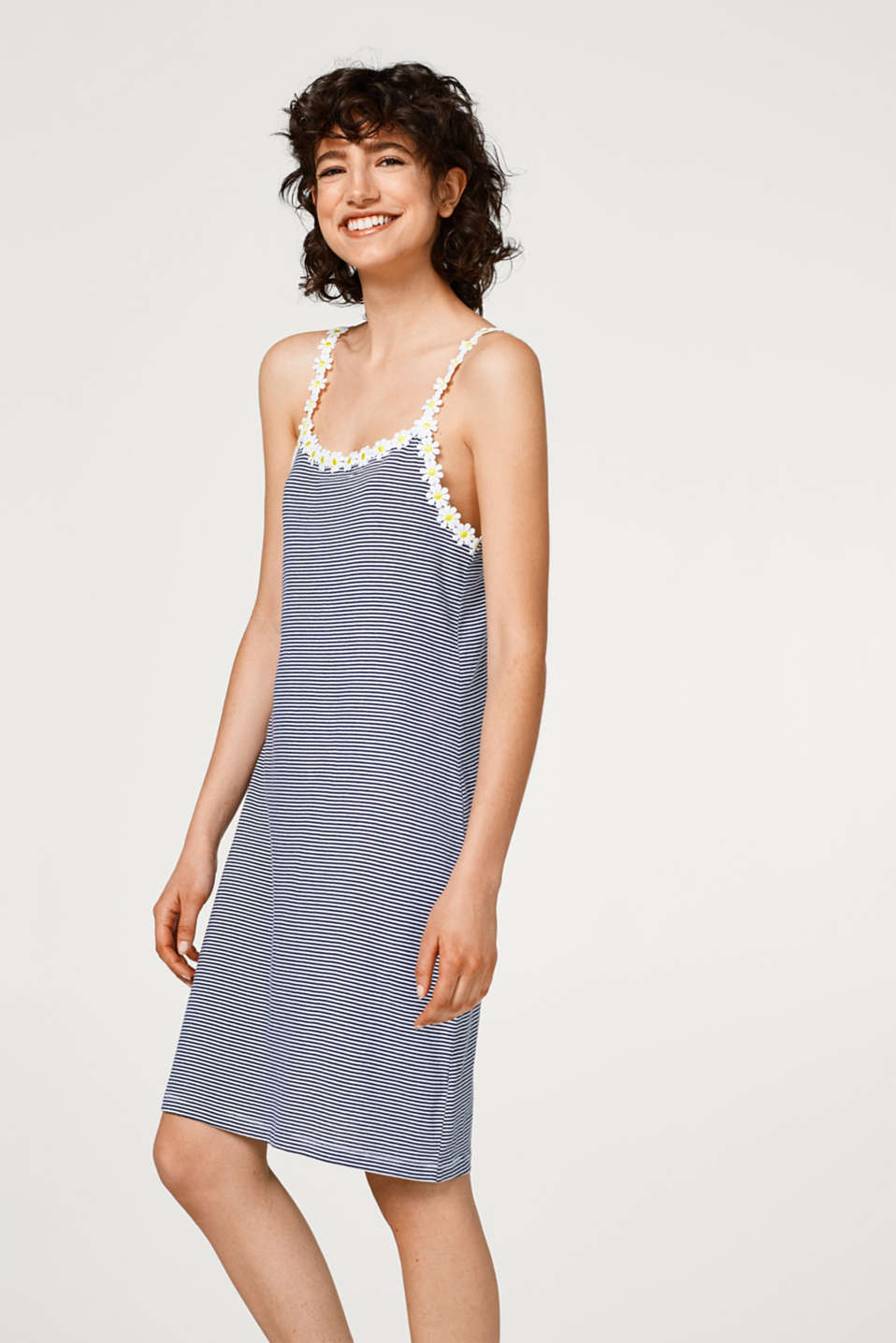 Nightshirt with spaghetti straps