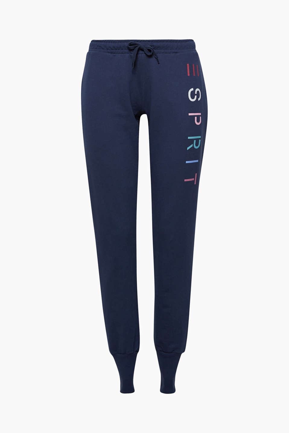 These light sweatshirt trousers go with any activewear tops and, thanks to the colourful logo prints, are a sporty classic!