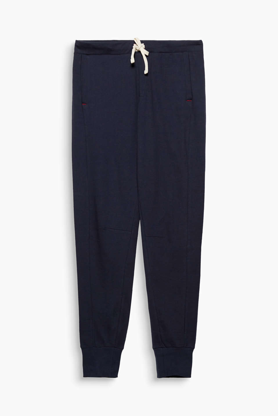 Feel fantastic and wear with whatever you want: these pure cotton-jersey pyjama bottoms are comfy and versatile!