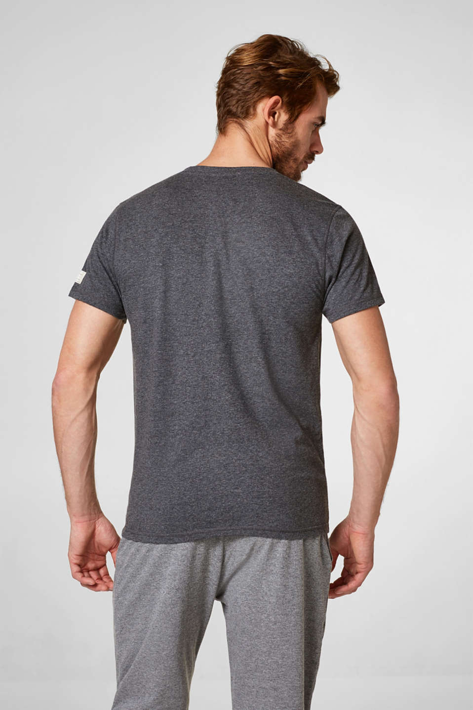 Jersey T-shirt in blended cotton