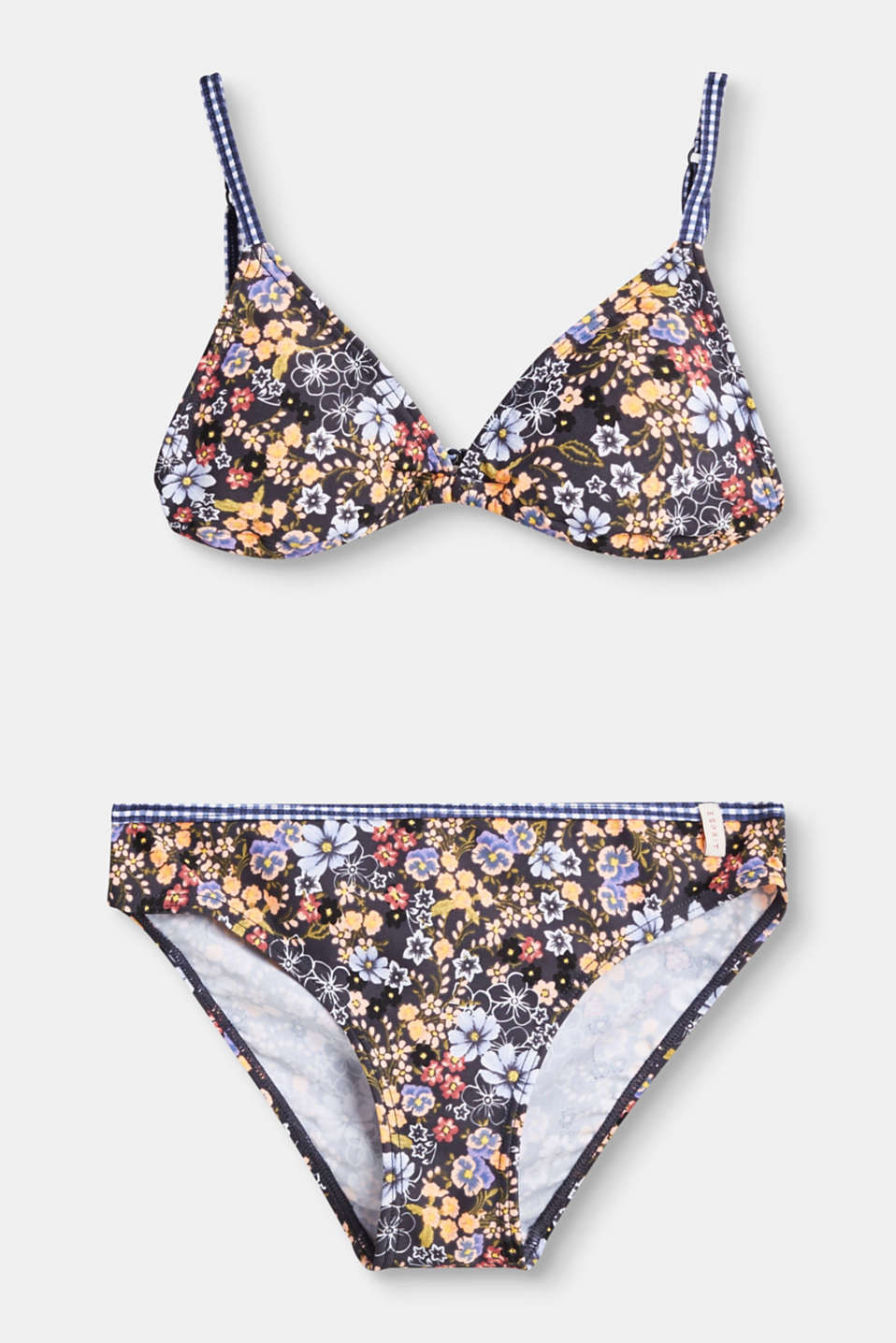 Esprit - Triangle top bikini with a floral print