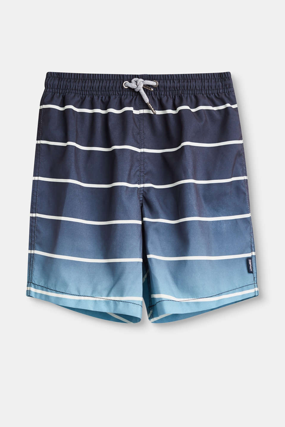 Esprit - Bermuda swim shorts with stripes