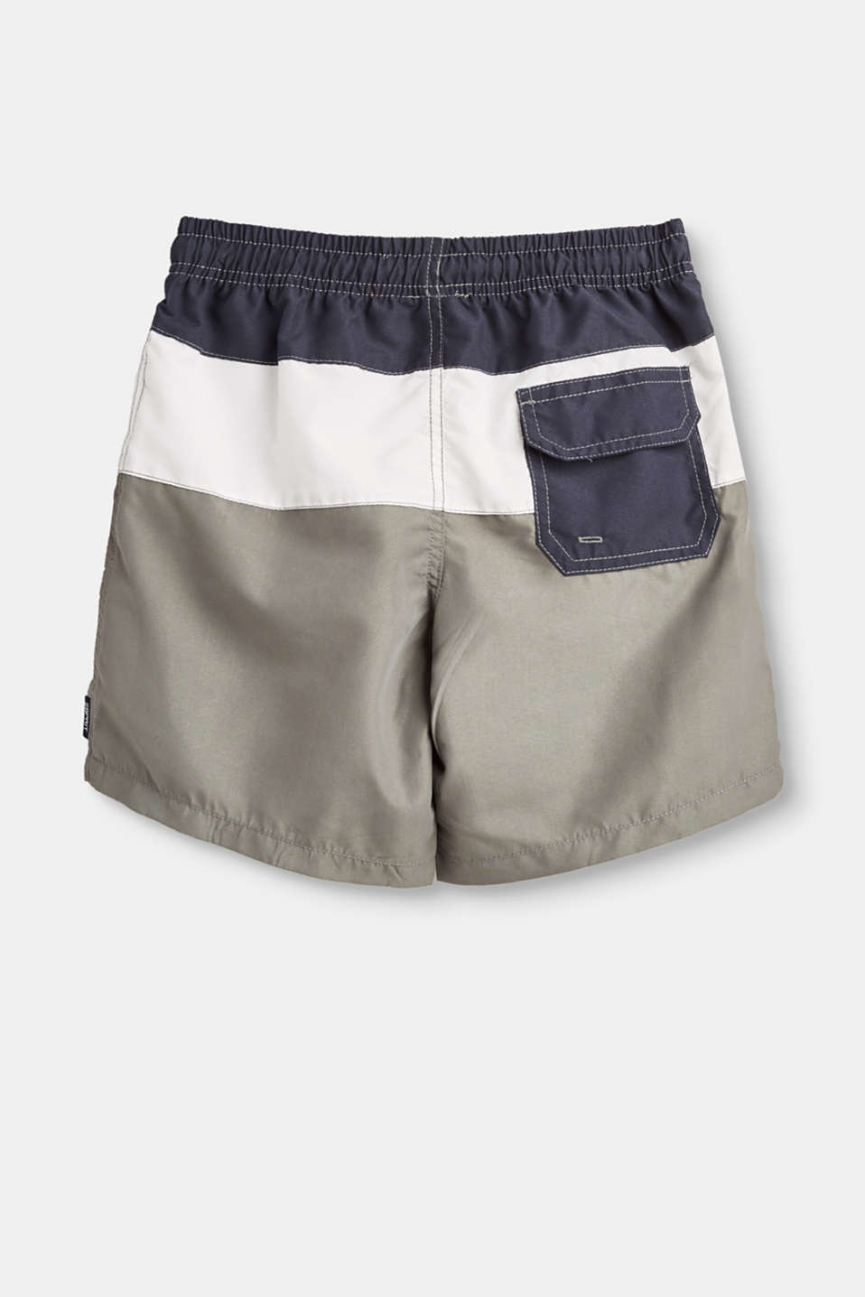 Bermuda swim shorts