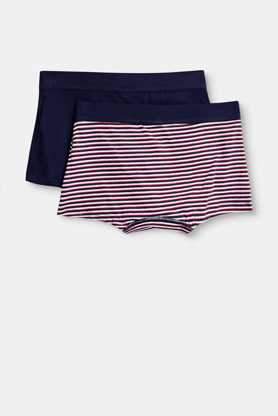 Lot de 2 boxers en coton stretch