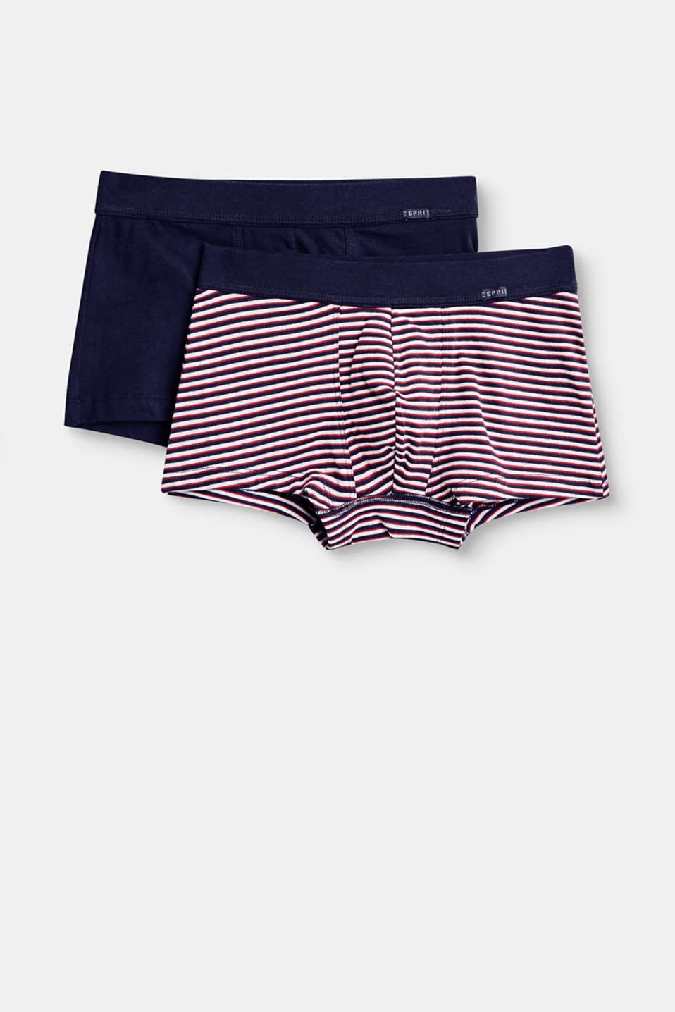 Esprit - Lot de 2 boxers en coton stretch
