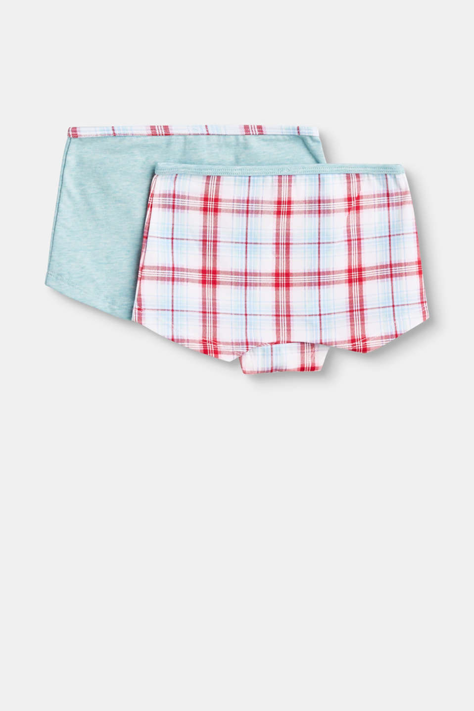 Shorts in a practical double pack