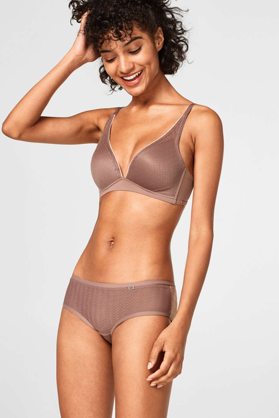 Esprit - NYE wireless push-up bra in lace