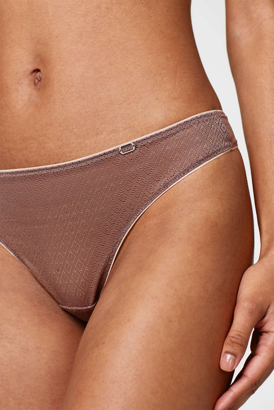 NYE hipster thong in graphic lace