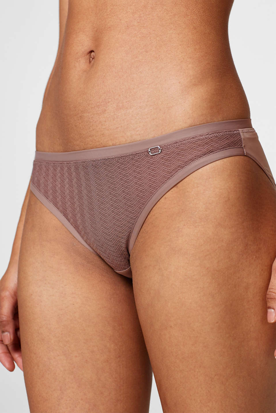 NYE hipster briefs in geometric lace