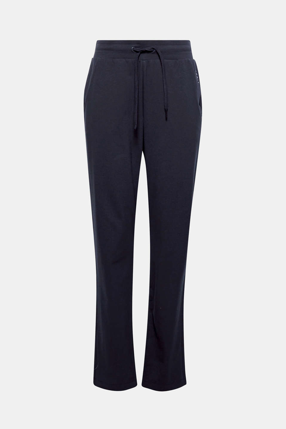 For sport or chilling out: these loose, stretch jersey tracksuit bottoms always feel mega comfy!