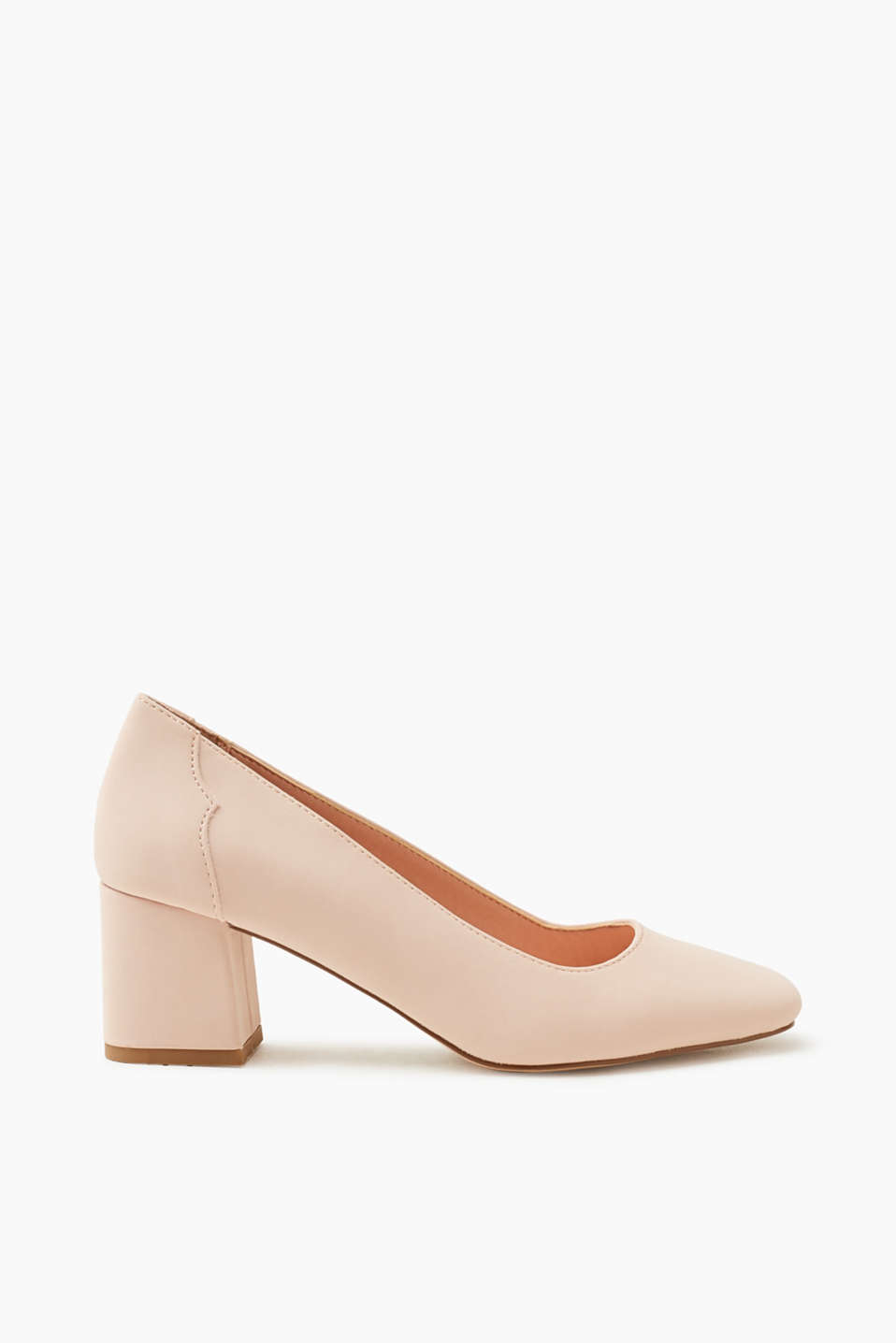 Esprit - Timeless court shoes with a block heel
