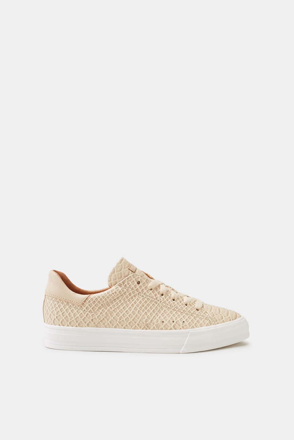 Esprit - Trendy trainers in a reptile look