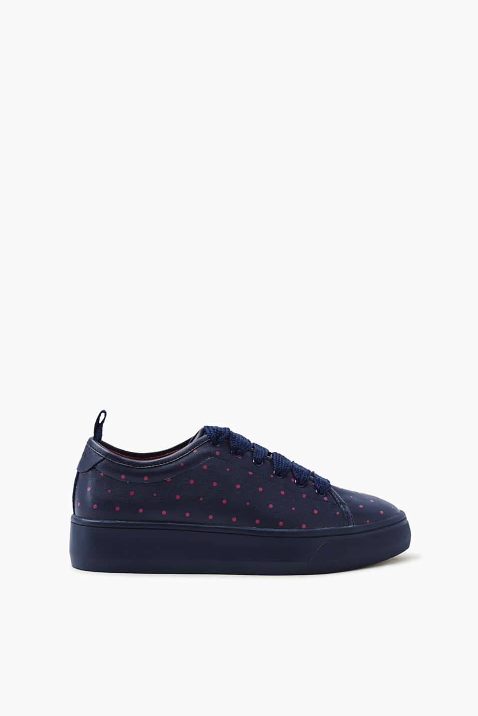 Esprit - Cool trendy trainers with a polka dot print