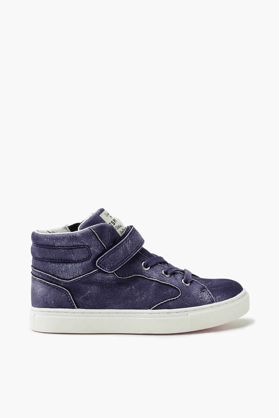 Esprit - High Top-Sneaker im Vintage-Look