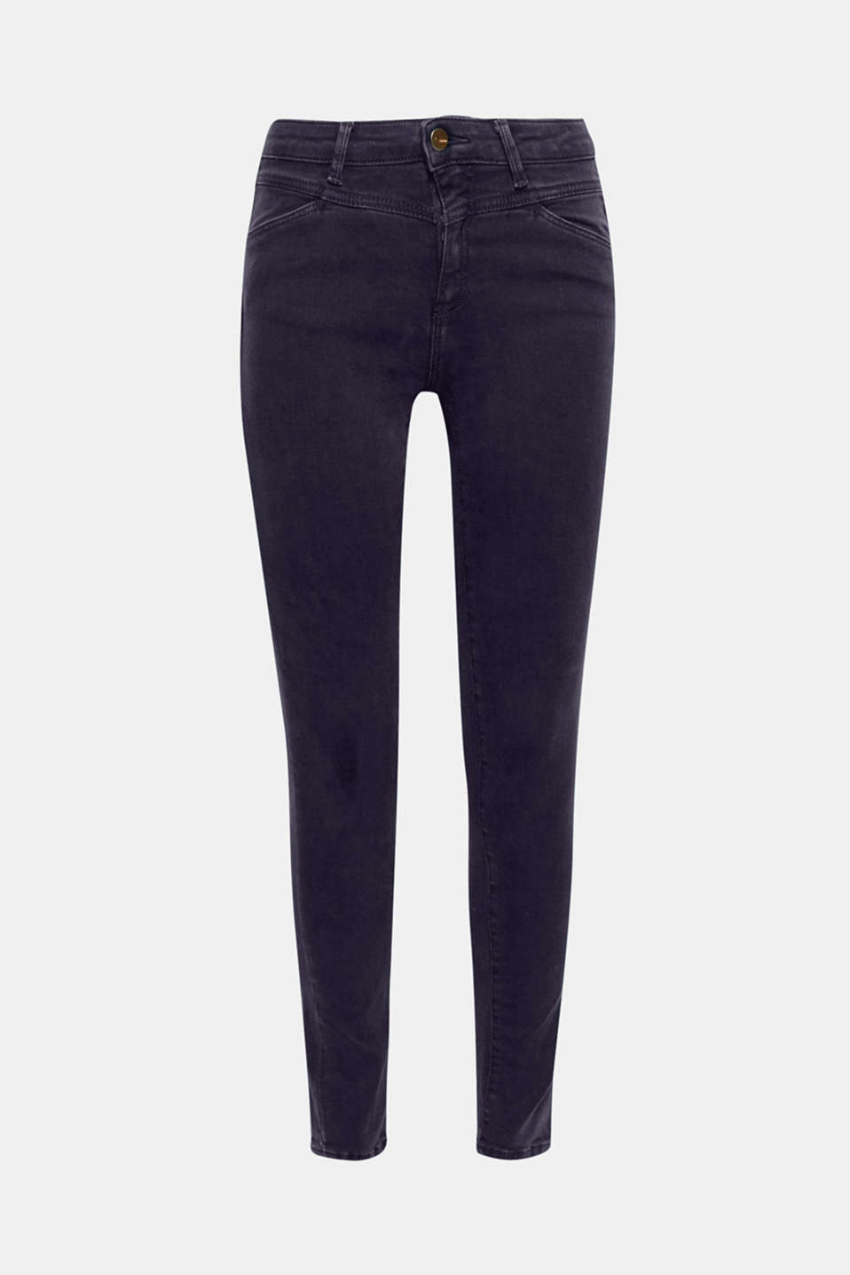 These shaping jeans with a figure-shaping effect additionally wows with its trendy colouring!