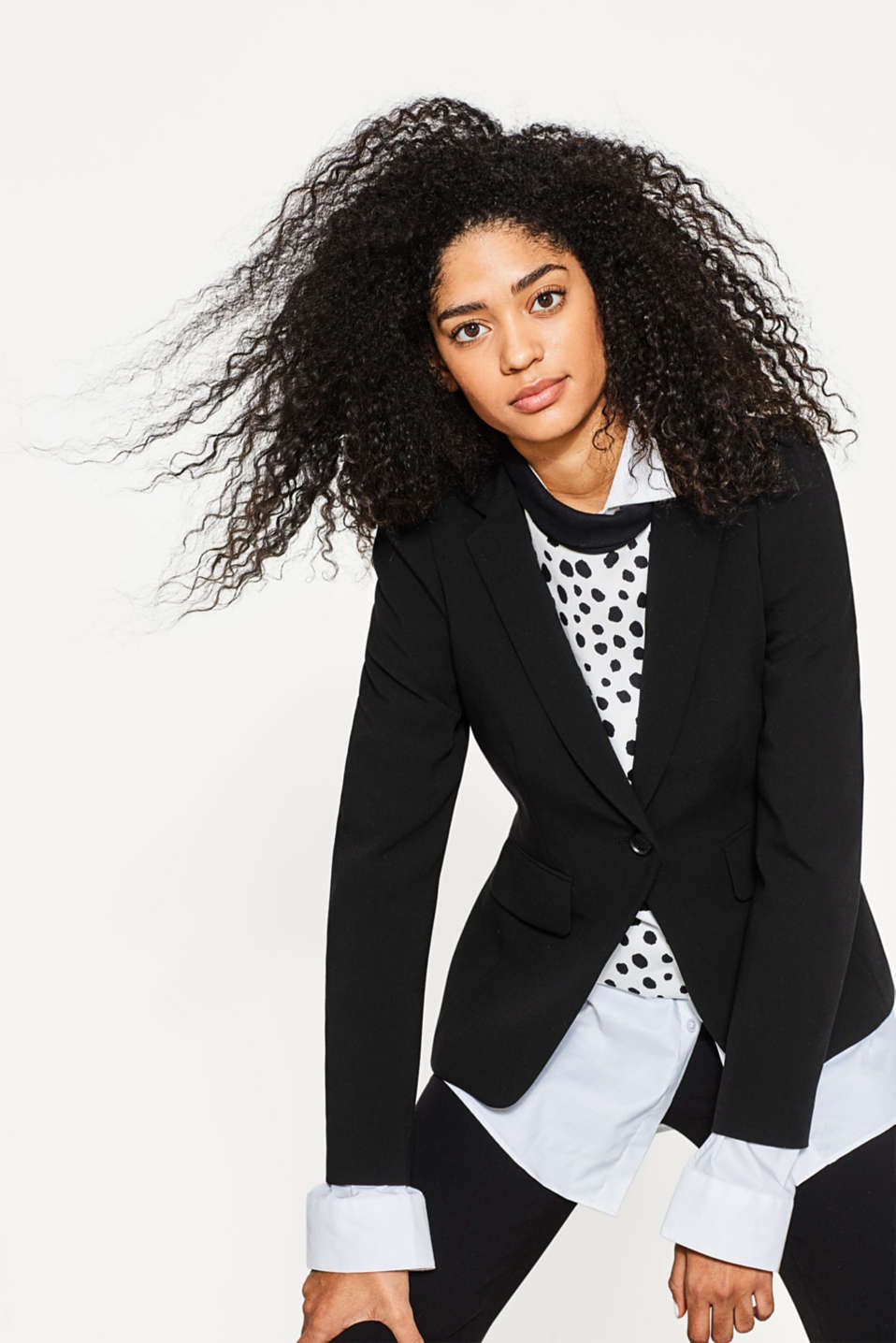 Esprit - STRETCH BUSINESS Mix+Match Blazer