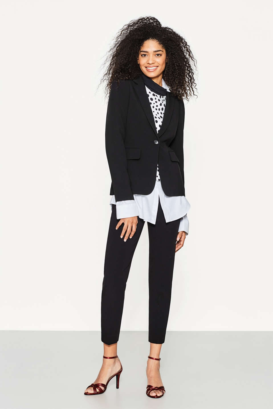 STRETCH BUSINESS Mix+Match Blazer