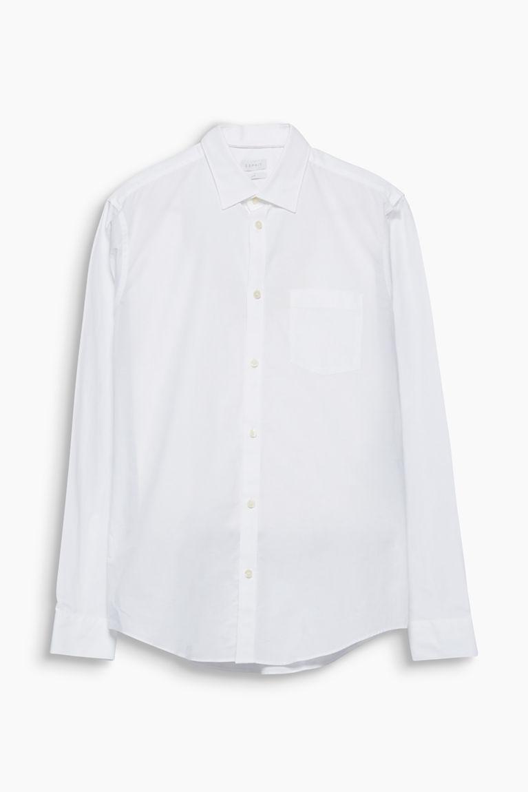 Bügelleichtes Hemd aus Baumwolle