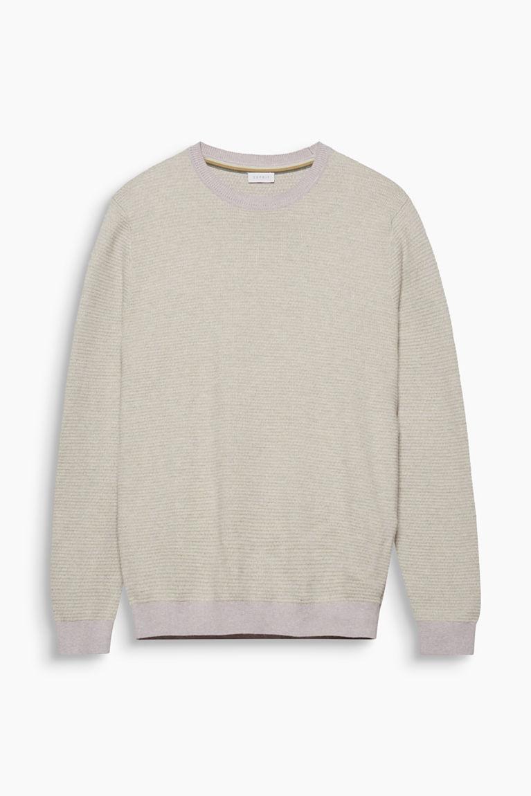 Jacquard-Pullover aus 100% Baumwolle