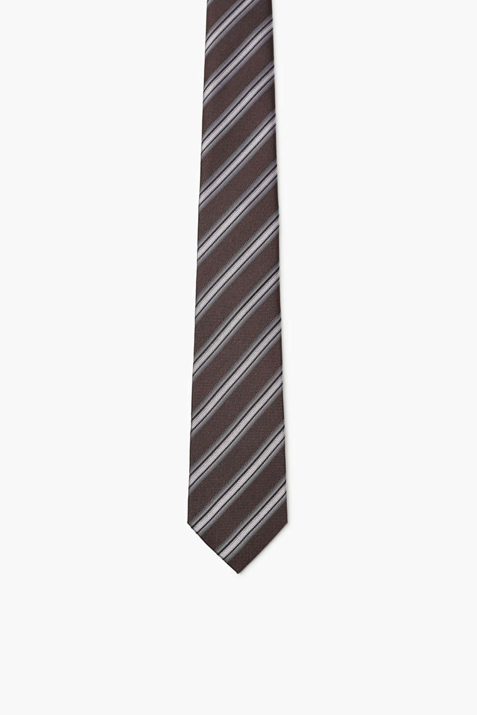 Esprit - Striped silk tie