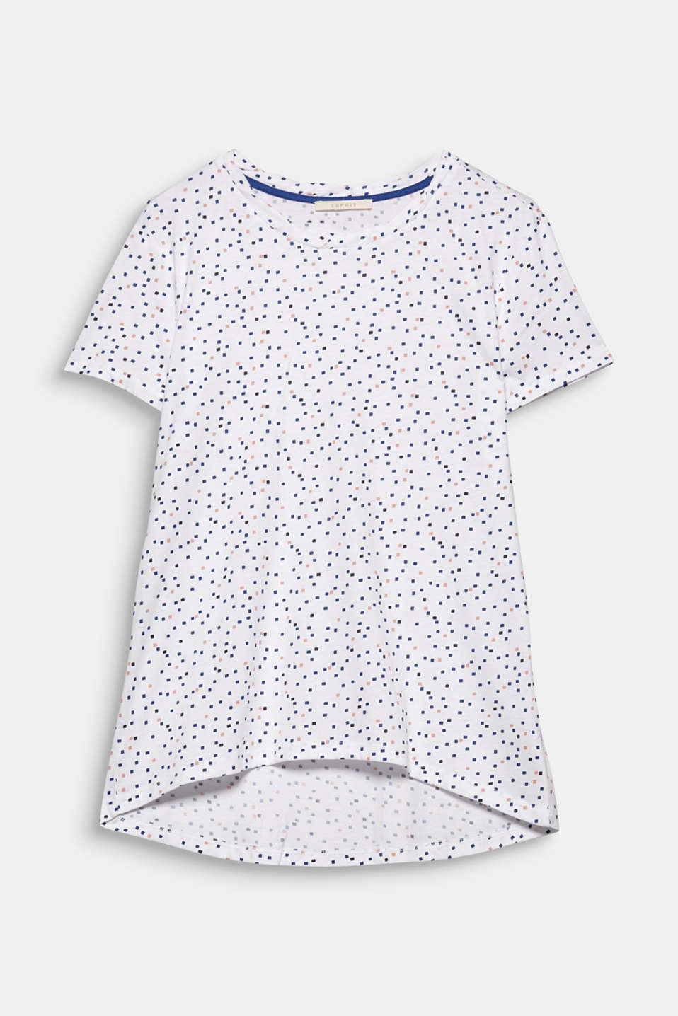 Thanks to the casual silhouette and cool minimal prints, this T-shirt is a fashionable basic for your look.