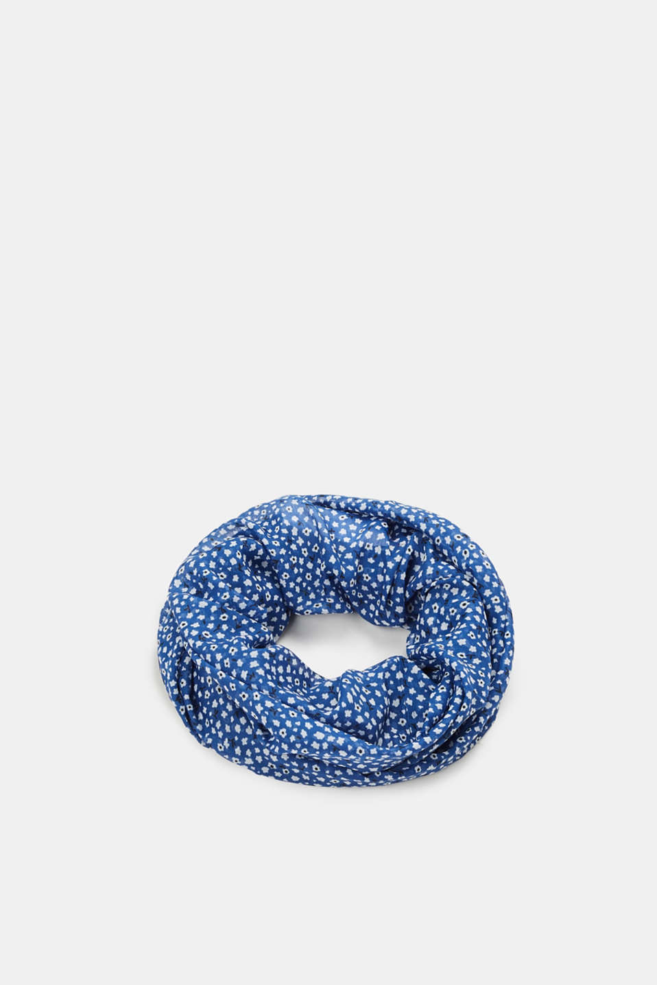 edc - Snood with a floral print, recycled