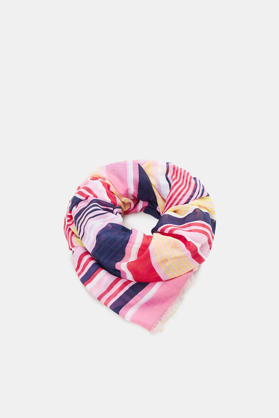 edc - Lightweight scarf with stripes, recycled