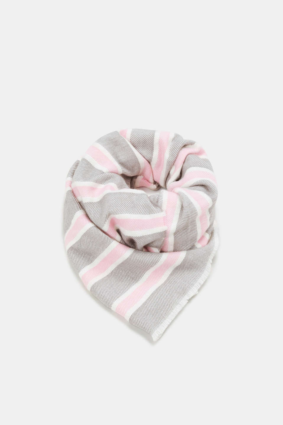 edc - Woven scarf with stripes