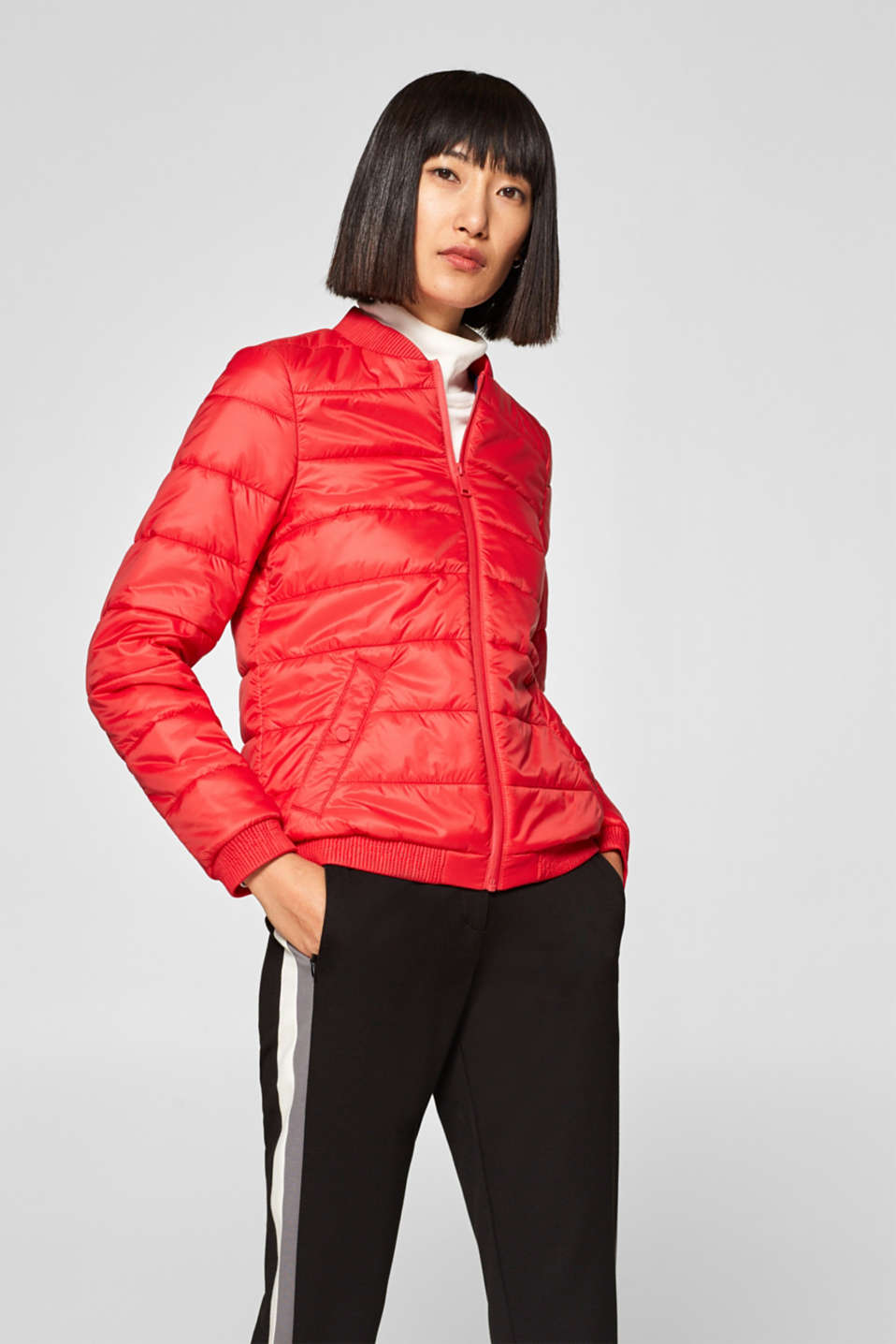 edc - Quilted jacket with lightweight padding