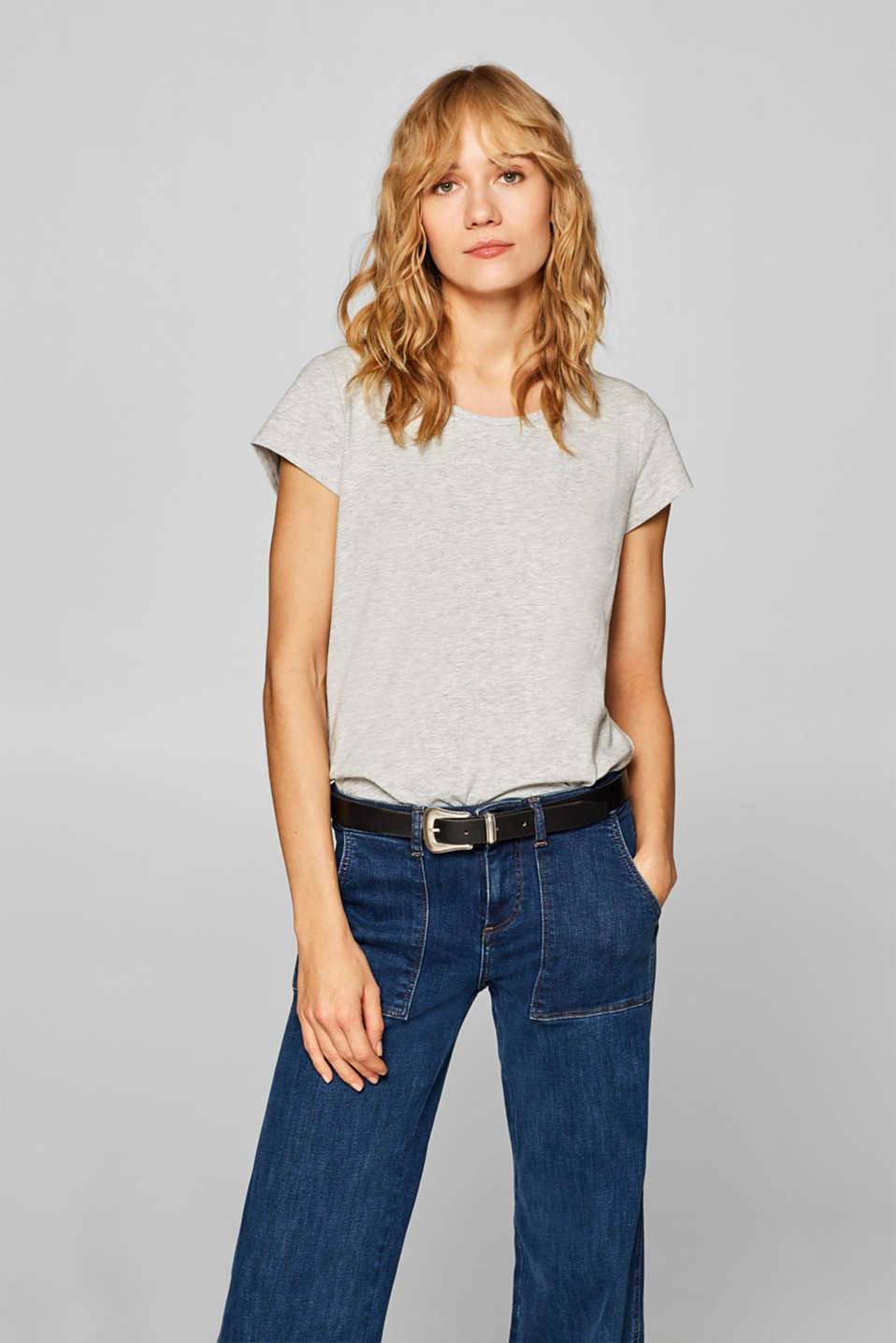 edc - Basic top with organic cotton