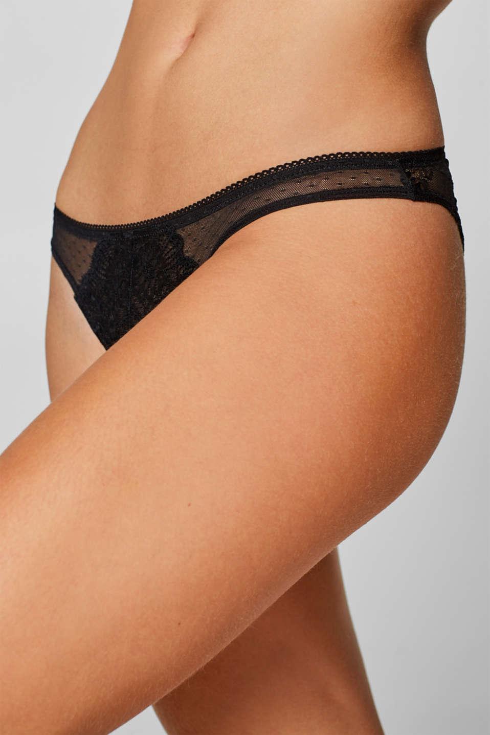 Bottoms, BLACK, detail image number 1