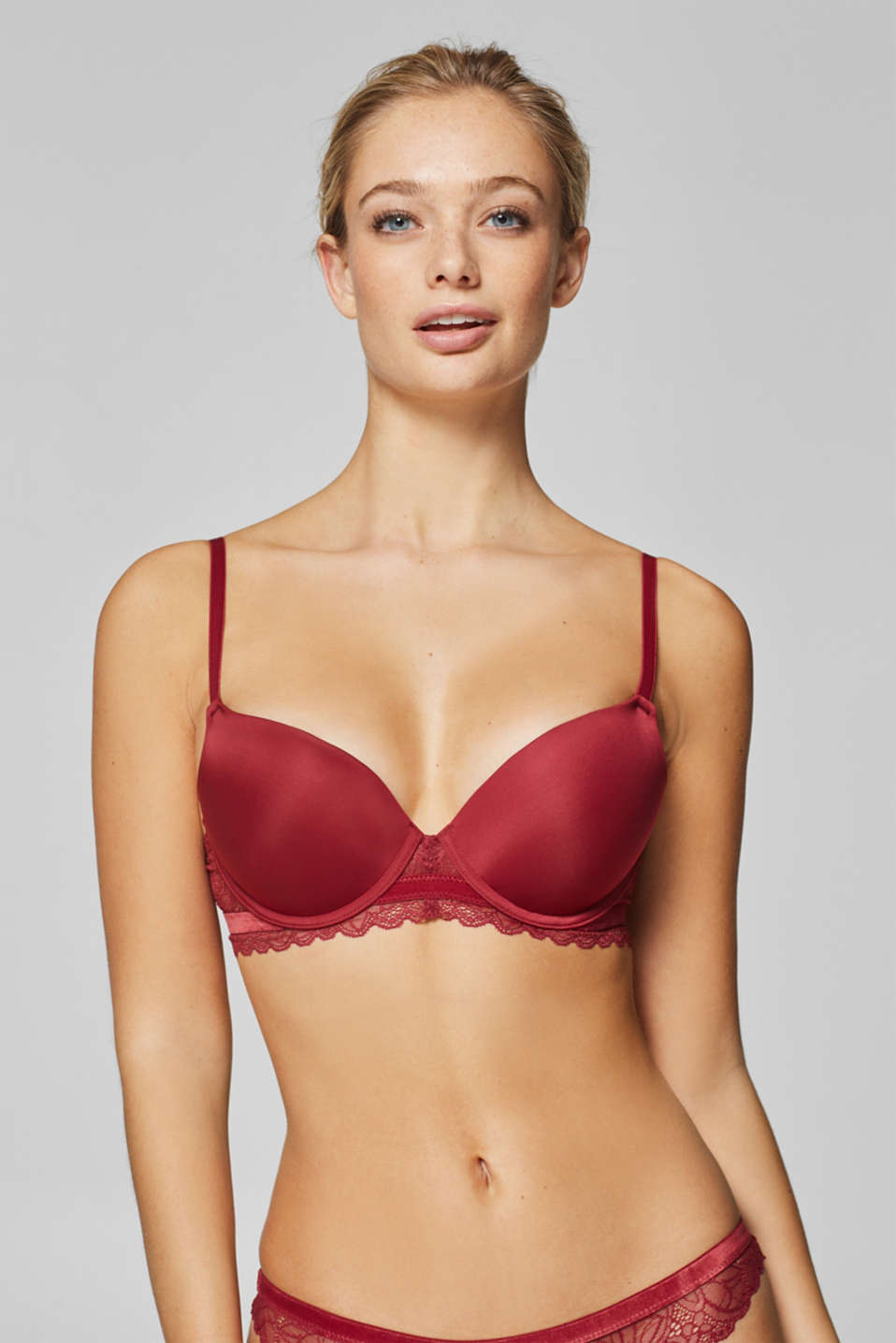 edc - Reggiseno push-up in pizzo micro