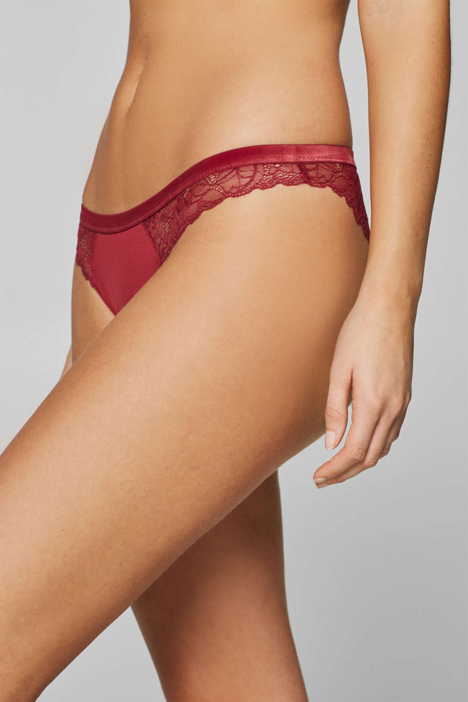Bottoms, BORDEAUX RED, detail image number 1