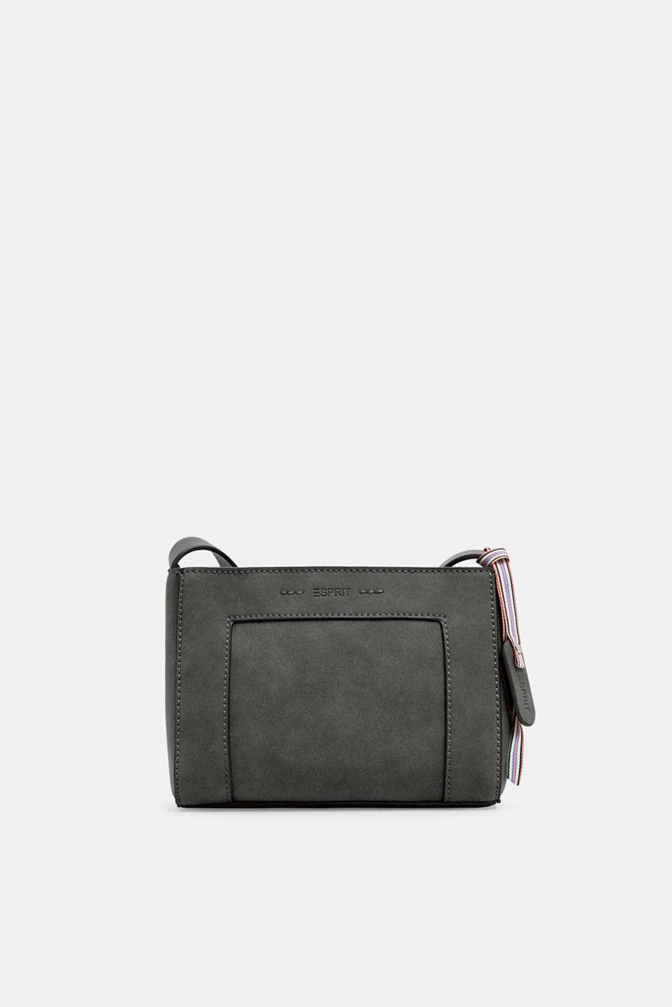 df50bb08c Esprit : Bolso bandolera pequeño en piel nobuk en la Online-Shop