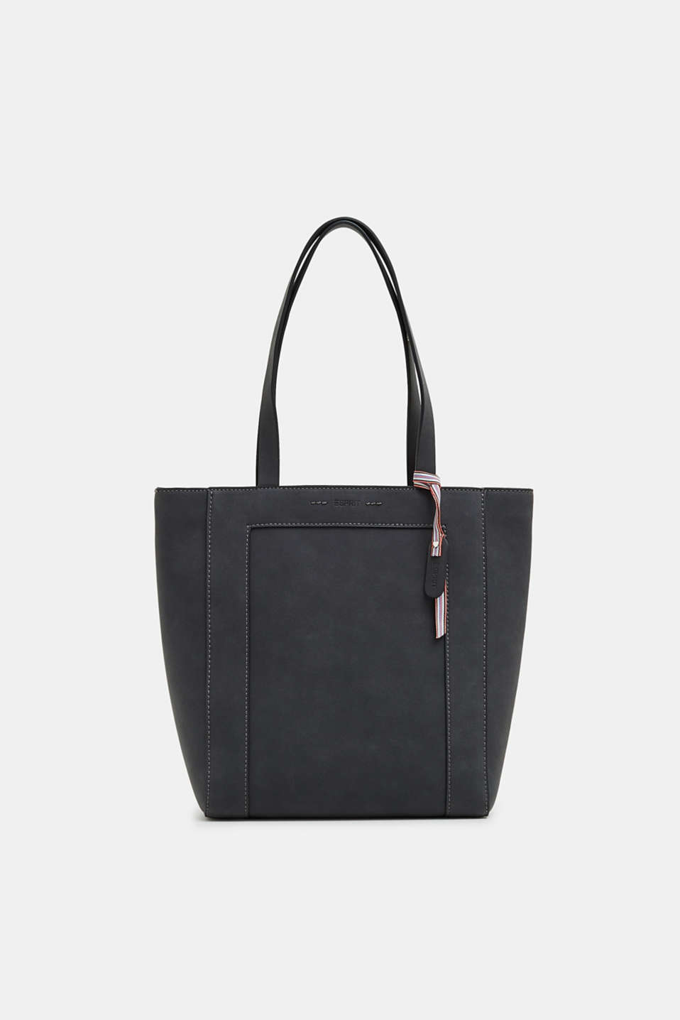 Esprit - Tote back in faux nubuck leather