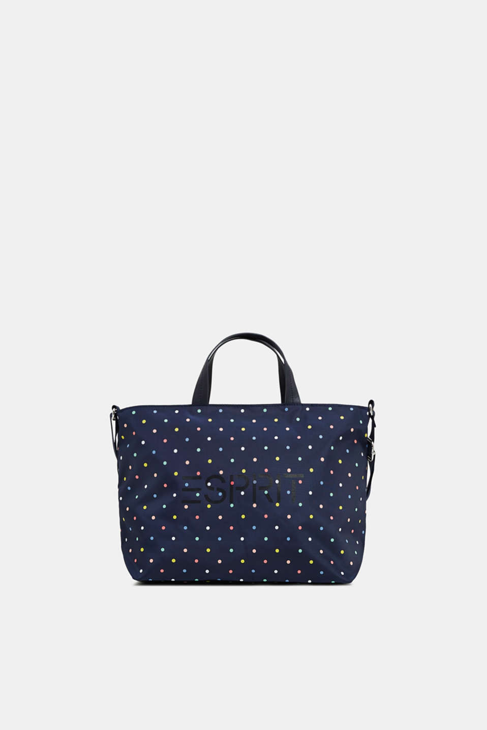 Esprit - City bag with a colourful print, in nylon
