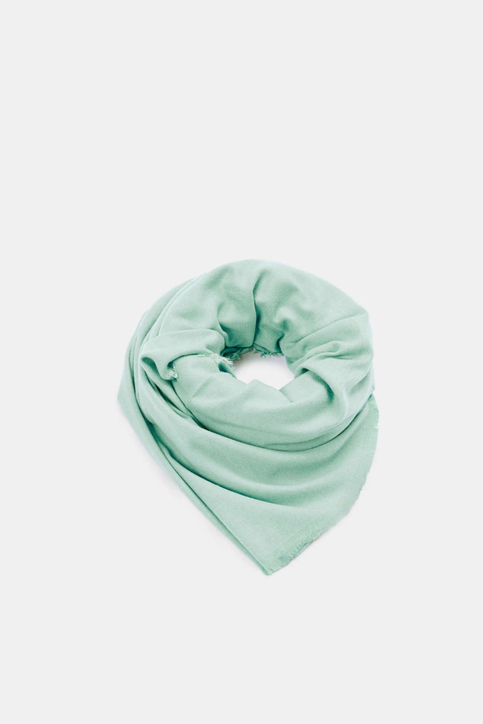 Shawls/Scarves, AQUA GREEN, detail image number 0