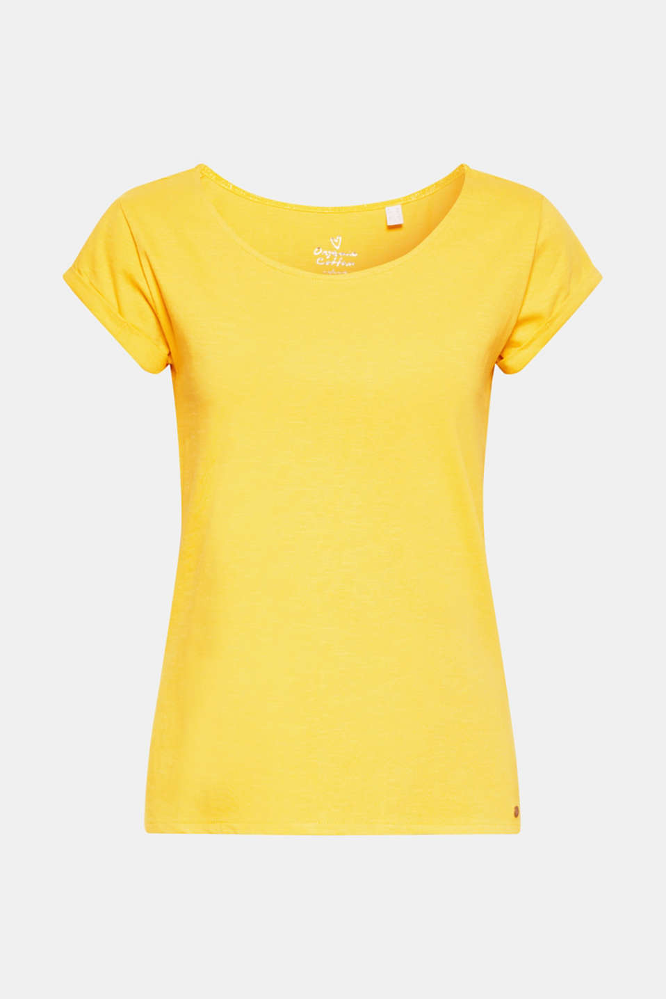 Esprit - T-shirt with organic cotton, 100% cotton