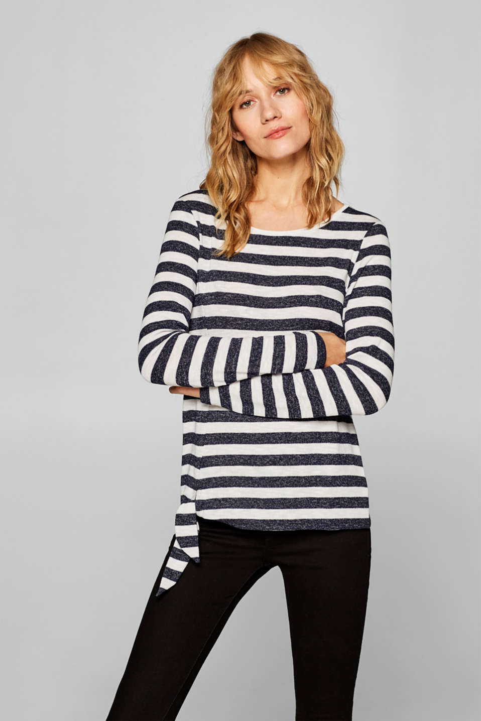 Esprit - Knot detail long sleeve top