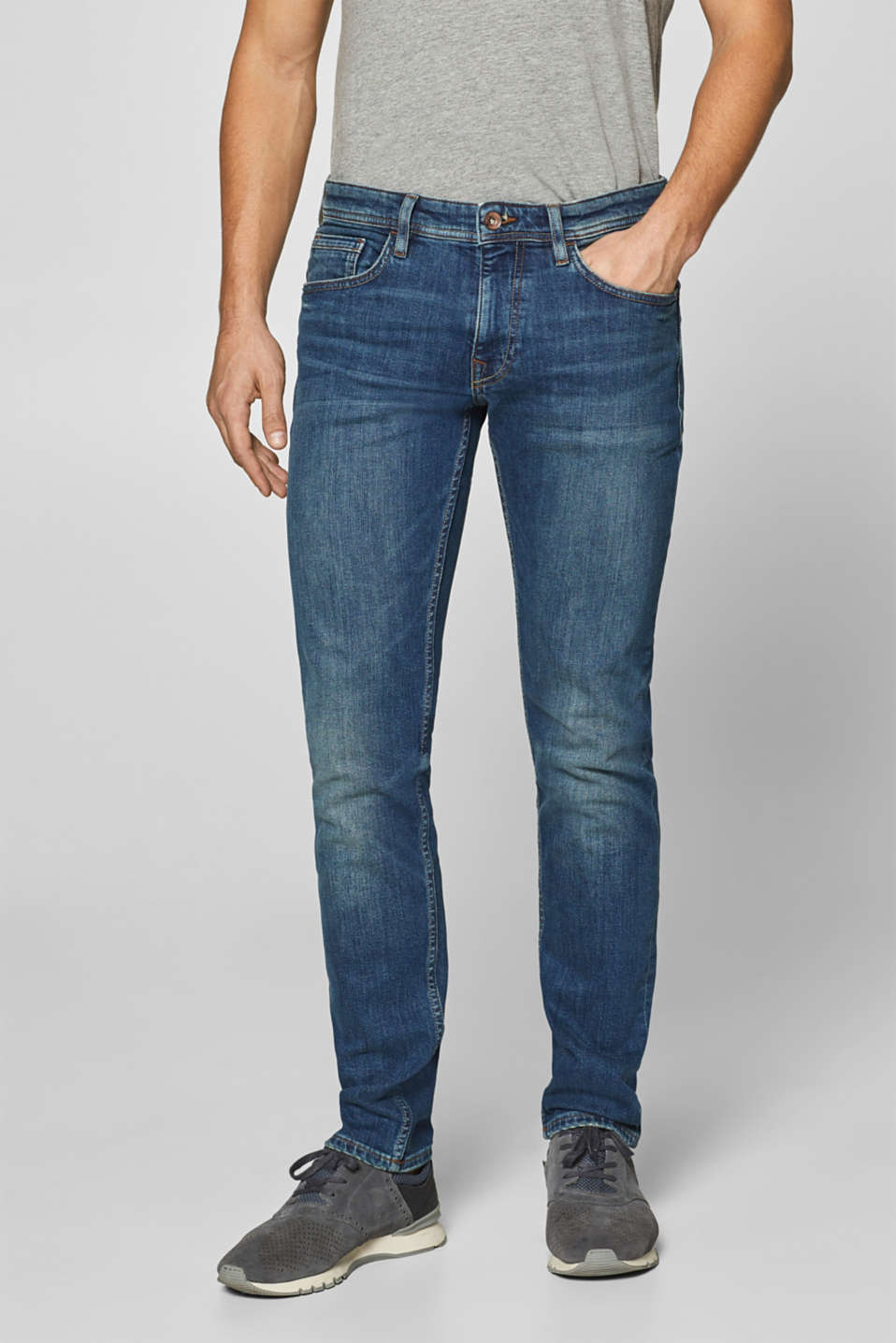 Esprit - Stone wash stretch jeans