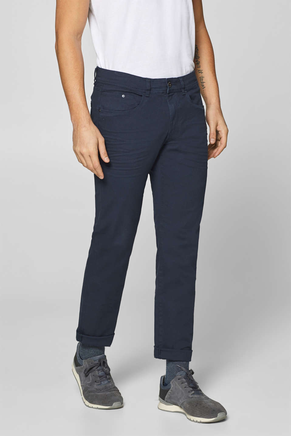 Esprit - Stretch-Pants mit cleaner Waschung