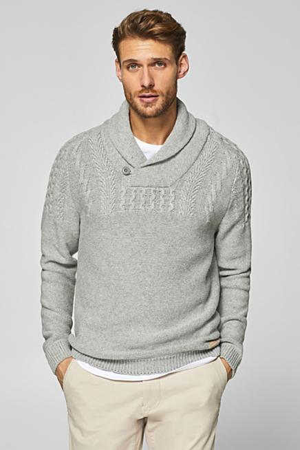Pullover Strickjacken Fur Herren Im Online Shop Esprit