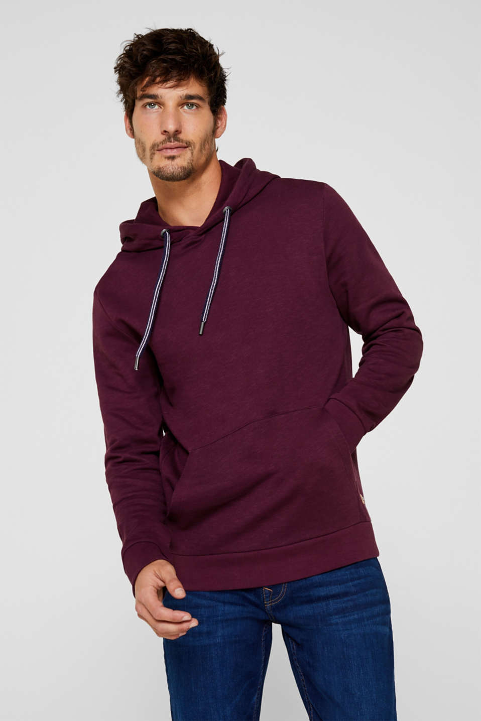 Esprit - Hoodie with organic cotton