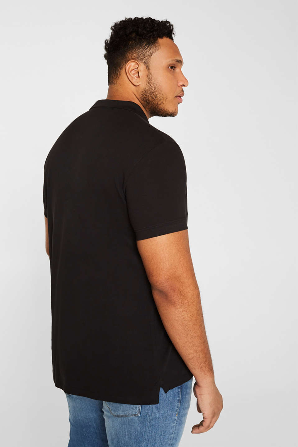 Polo shirts, BLACK, detail image number 3