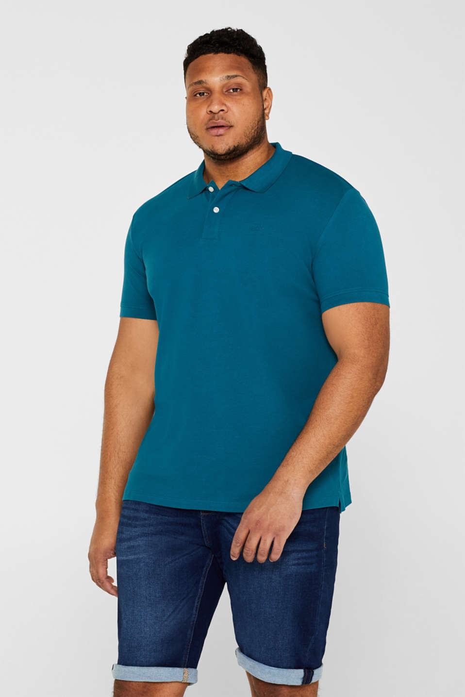 Polo shirts, PETROL BLUE 2, detail image number 0