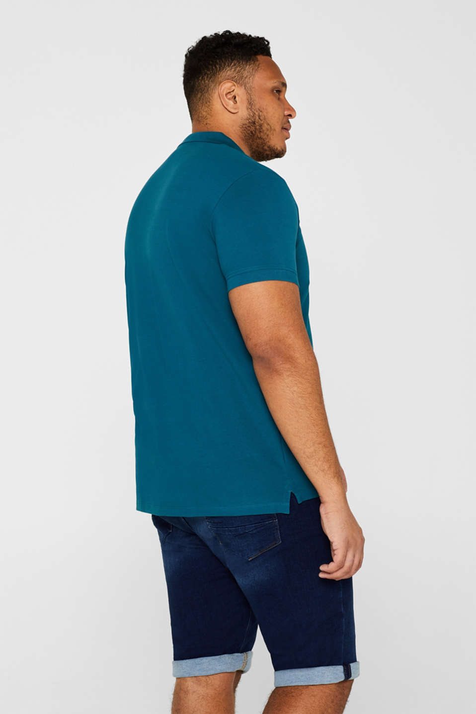 Polo shirts, PETROL BLUE 2, detail image number 3
