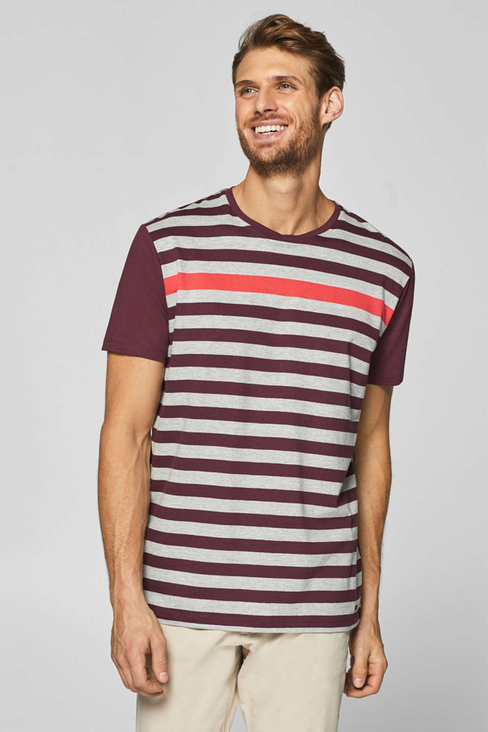 Esprit - Striped jersey T-shirt