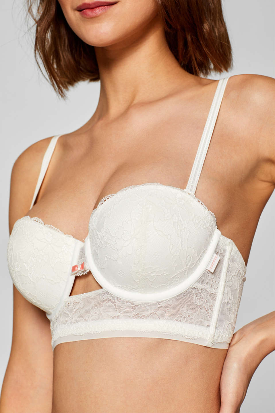 Bras with wire, OFF WHITE, detail image number 3